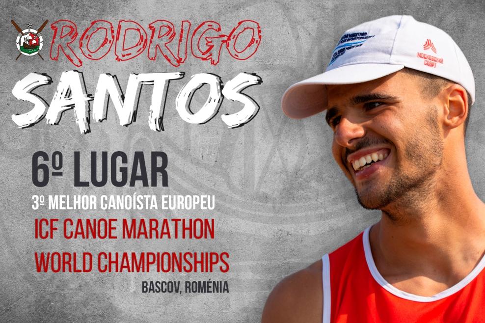 Canoagem: Rodrigo Santos em Destaque no Mundial de Maratona