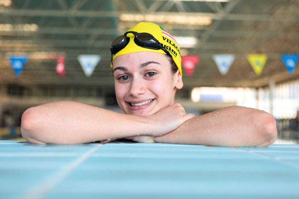 Catarina Monteiro Subiu ao Olimpo na sua Estreia nos Jogos