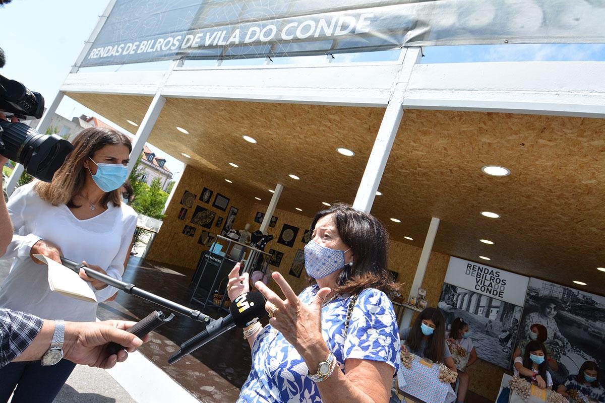 A 43ª Feira Nacional de Artesanato Abriu Portas com Restrições