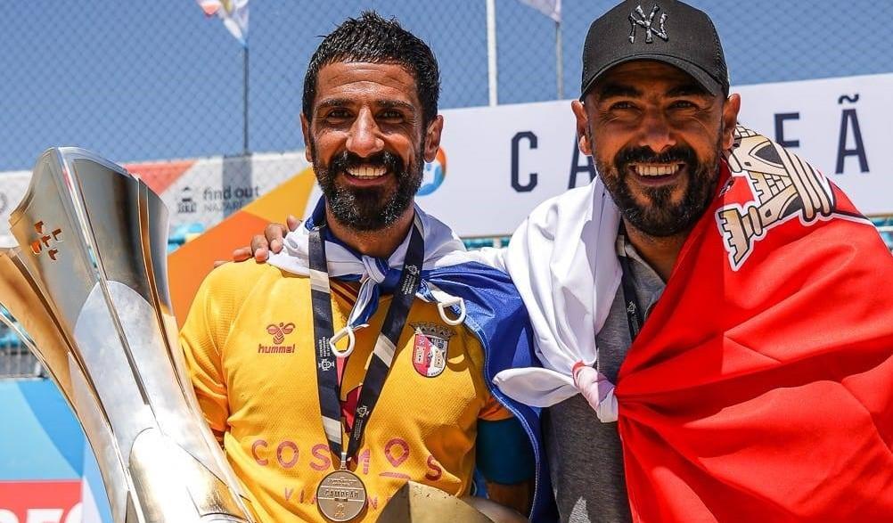 Irmãos Torres Ajudam Braga a Conquistar Título de Futebol de Praia