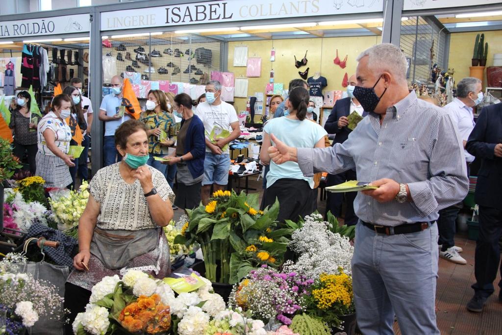 Mercado Municipal Marca Arranque da Pré-Campanha do PSD