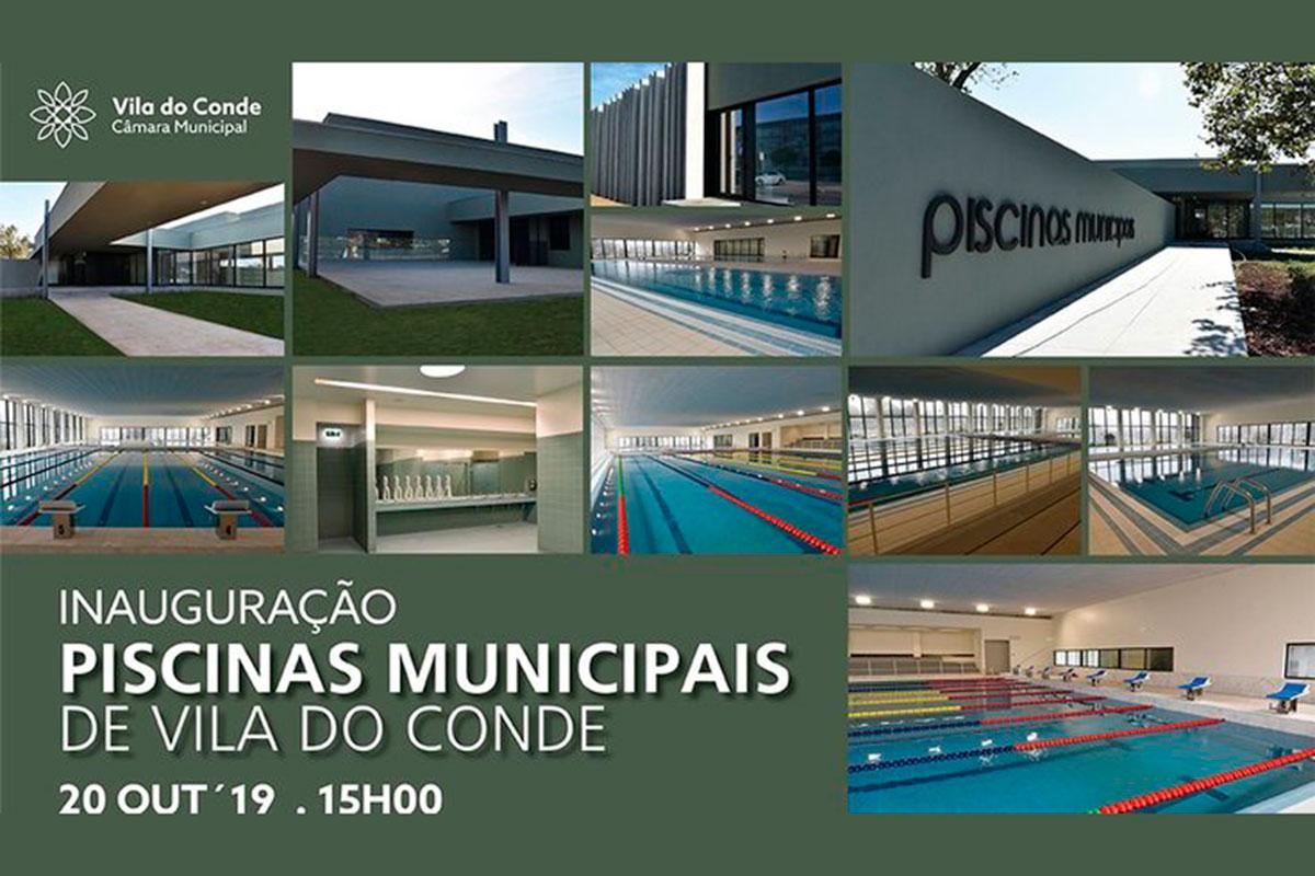 Inauguração das Piscinas Municipais de Vila do Conde